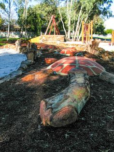 Bannister Creek Nature Playground, Lynwood - Buggybuddys guide for families in Perth Bathers Beach House, School Holiday Programs, Make Your Own Pizza, Adventure Center, Library Activities, Natural Playground, Bannister, Play Spaces, Big Tree
