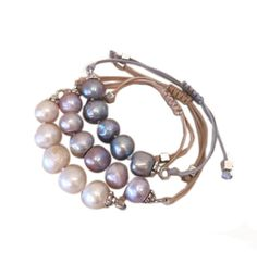Bella Pearls Freshwater Pearl with Toggle Clasp and Heart Charm Sterling Silver Bracelet of Length 18 cm ZAvDPcH