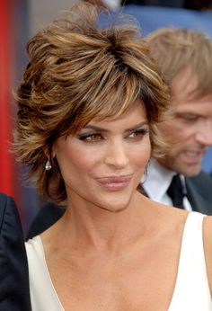 Lisa Rinna during 33rd Annual Daytime Emmy Awards Arrivals at Kodak Theater in Hollywood California United States