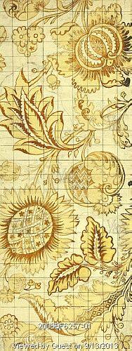 Design for woven silk, by James Leman (1685-1745). Watercolour on paper. Spitalfields, London, England, c.1720.