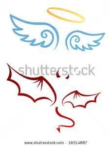 angel devil tattoo on pinterest angel devil tattoo devil and devil tattoo. Black Bedroom Furniture Sets. Home Design Ideas