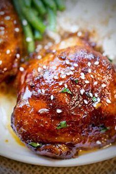 #slowcooker #honey #garlic #chicken Honey Garlic Sauce, Honey Garlic Chicken, Chicken Breast Recipes Healthy, Healthy Recipes, Soy Chicken, Duck Sauce, Low Sodium Soy Sauce, Hoisin Sauce, Dinner Dishes
