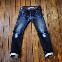 Front - Iron Heart Model-666S. 373 days, 8 soaks & 2 washes from @nizzel55 at Superfuture/Superdenim. Incredible!!ⓀⒾⓃⒼⓈⓉⓊⒹⒾⓄⓌⓄⓇⓀⓈ