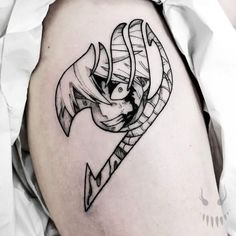 100 Best Fairy Tail Tattoo Designs You Need To See!   Outsons   Men's Fashion Tips And Style Guide For 2020 Black Ink Tattoos, Mini Tattoos, Cute Tattoos, Leg Tattoos, Arm Band Tattoo, Body Art Tattoos, Tatoos, Band Tattoos For Men, One Piece Tattoos