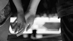 gif love photography relationship couple girlfriend boyfriend girl cute adorable Black and White tumblr hands boy holding holding hands goals intertwine relationship goals