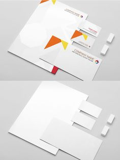 Beautifully designed free branding identity and stationery Mockup PSD Templates. Designing corporate branding or visual identity can be most valuable asset for Graphic Design Brochure, Graphic Design Fonts, Graphic Design Inspiration, Photoshop, Maquette Site Web, Wall Logo, Photomontage, Print Layout, Design Graphique