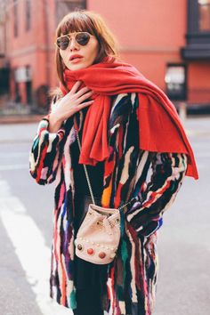 HOW TO WEAR BOLD JEWEL TONES | Natalie Off Duty | Bloglovin'