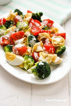 Tortellini, Pasta Salad, Cobb Salad, Food And Drink, Ethnic Recipes, Recipes, Cold Noodle Salads, Noodle Salads, Macaroni Salad