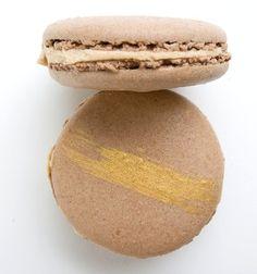 Hazelnut Macaron    Filled with Hazelnut Butter Cream