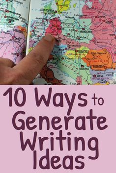 Do you want to write but find it difficult finding ideas for what to write about? Try these tips for generating ideas and topics. #Writing