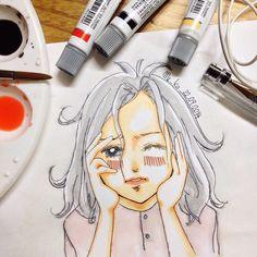 wake up dear! | #mekaworks #drawing