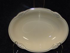 D & R Vintage Dinnerware and Collectibles.   Just in time for fall decorating...   SAVE 20% - Special Offer just for our Pinterest Fans! Limited time offer! Click on the link below NOW to explore our store and save 20% ebay.us/NsvDPt  Homer Laughlin Marigold Oval Serving Veg Bowl W134 Cream Plat Trim  MINT & RARE! #HomerLaughlin