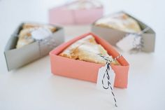 DIY: Pie Box Favors