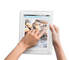 Disposable Sleeves for iPad - 25 Pack by Chef Sleeve by Chef Sleeve, http://www.amazon.com/dp/B00A7OEEYM/ref=cm_sw_r_pi_dp_zNkwrb1E1D183