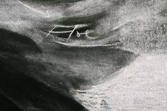 Tacita Dean | Fatigues (detail) | unfixed chalk | 2012