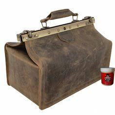Retro Outfits, Retro Vintage, Retro Fashion 50s, Medical Bag, Cow Leather, Bag Making, Leather Shoulder Bag, Handle, Ebay