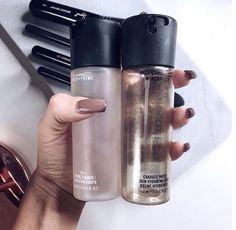 mac, makeup, and nails image