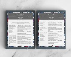Elegant And Beautiful Resume Template For Microsoft Word In