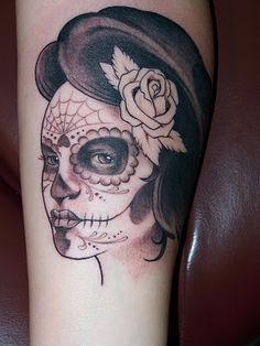 218 Best Sugar Skull Girl Tattoo Day Of The Dead Images Candy