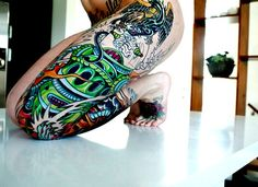 Tattoo on the leg. #tattoo #tattoos #ink