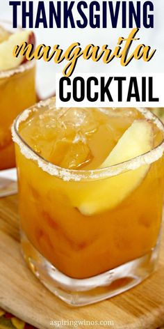 Fall Margarita Recipe | Autumnal Cocktail Recipe | Thanksgiving Cocktail | Food and Drink | Entertaining | Thanksgiving Drink Recipes Thanksgiving Cocktails, Fall Cocktails, Summer Drinks, Thanksgiving Recipes, Thanksgiving Appetizers, Holiday Recipes, Margarita Cocktail, Cocktail Food, Cocktail Recipes