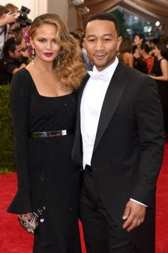 25 of the biggest celebrity power couples in fashion, Hollywood, music and politics: Chrissy Teigen and John Legend