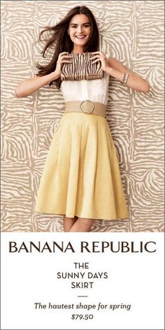 Pretty.  I haven't said that about Banana Republic in a long time.