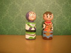 buzz and woody peg dolls