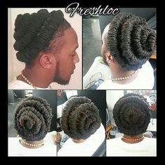 Beautiful!!!! Men Dread Styles, Dreadlock Styles, Dreads Styles, Loc Hairstyles For Men, Dreadlock Hairstyles, African Hairstyles, Pretty Dreads, Beautiful Dreadlocks, Cornrow
