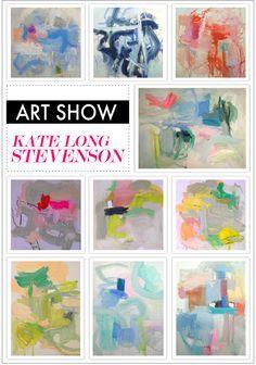 artist Kate Long Stevenson