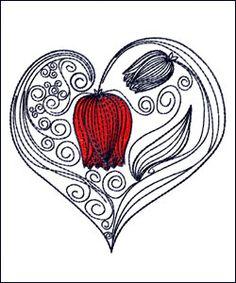 Valentine Fancy Heart