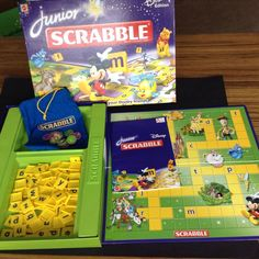 Junior Scrabble Disney Edition 100% Complete Game Mattel 2006 2 Games In 1 EUC in Toys, Hobbies, Games, Board & Traditional Games | eBay!