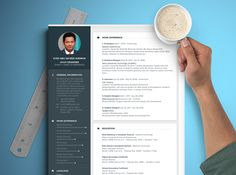 """Check out my @Behance project: """"CV MockUp Design"""" https://www.behance.net/gallery/48811999/CV-MockUp-Design"""