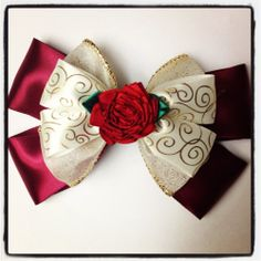 Beauty and the Beast Enchanted Christmas by ToInfinityBowtique, $9.00