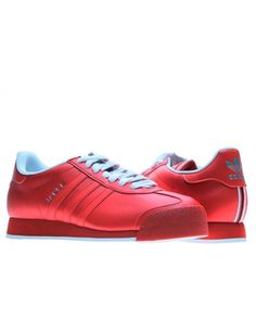 NEW ADIDAS SAMOA Originals MENS 14 Vintage Rom POPPY RED NWT #adidas #Athletic