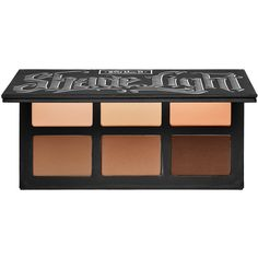 Kat Von D Shade + Light Contour Palette ($46) ❤ liked on Polyvore featuring beauty products, makeup, beauty, kat von d, cosmetics, kat von d makeup, paraben free makeup, highlight makeup and kat von d cosmetics