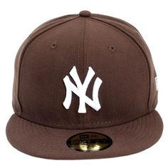 Boné New Era New York Yankees White / Brown R$149.90