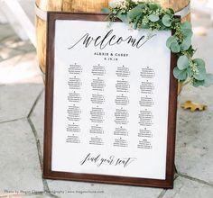 Wedding Seating Chart Template Seating Plan Printable