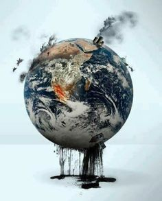 What are you going to do when all reserves are tapped out and they have fracked the life out of mother earth? Go GREEN. Reduce travel pollution with video conferencing. Salve A Terra, Terre Nature, Art Environnemental, Save Our Earth, Save Planet Earth, Save Mother Earth, Save The Planet, Expo 2020, Environmental Art