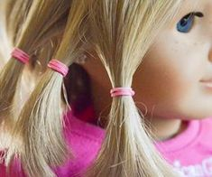 How To Adult How to Fix American Doll Frizzy Hair Barbie Hair Fix, Fix Doll Hair, My American Girl Doll, American Girl Clothes, Doll Hair Repair, American Girl Hairstyles, Ag Hair Products, Journey Girls, Girl Dolls