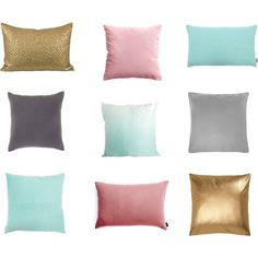 """""""Cushions for a spring make-over"""" by whohatesbambi on Polyvore"""