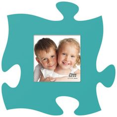 A Puzzle Photo Frame - choose from 22 colors