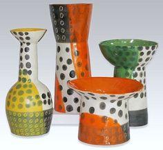 Pop-dot Ceramic Collection by Craig Anczelowitz, via Behance