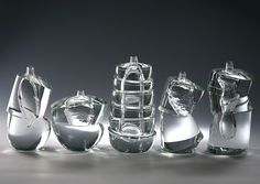 Murano Glass Vases by Yoichi Ohira - Design Is This