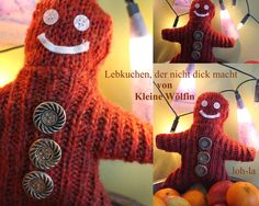Lebkuchenmann / Gingerbread man / Upcycling