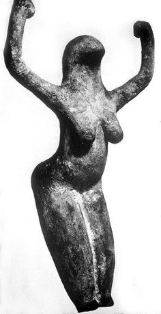 Bird headed Goddess of Africa c 4000 BCE [bird headed Firmament holding up  the firmament and bosom of earth]
