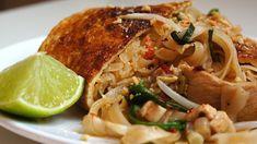 Pad Thai v omelete