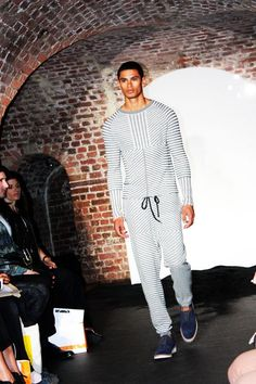 Doming Rodriguez  London fashion designers are so innovative!
