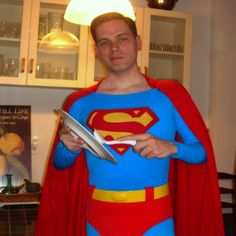 Yes, Superman does the dishes at the Fortress of Solitude. Batman has a butler, but I don't.