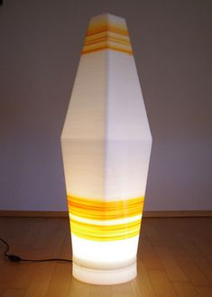 Stehlampe Rhombus Lava Lamp, Table Lamp, Lighting, Paper, Home Decor, Bedside Lamp, Floor Lamp Base, Lamp Table, Decoration Home
